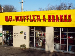 Mufflers are what we do at Mr. Muffler