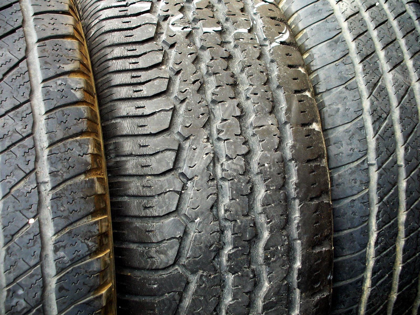 check tires for air and wear