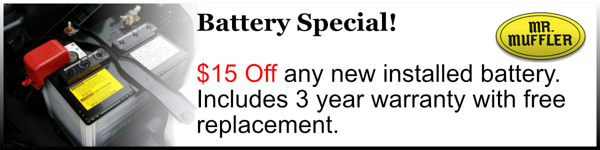Battery Special!